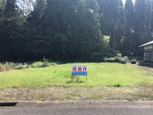 【売土地】越前市上大坪町(B)